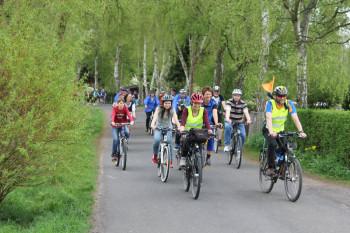 Am kommenden Sonntag, 9. August 2015, bietet der ADFC Schwalmstadt eine geführte Radtour zur Burgruine Löwenstein an. Foto: nh