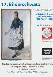 """Bilderschwatz – Talk mit Kunst"" in Willingshausen. Foto: nh"