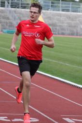 Florian Schareina gefiel im Fünfkampf der U20. Foto: nh