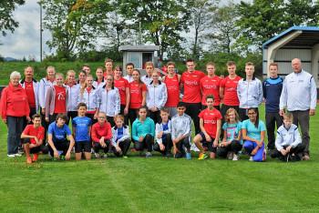Ein großes und motiviertes Team der MT 1861 Melsungen. Foto:  Eric Ullrich