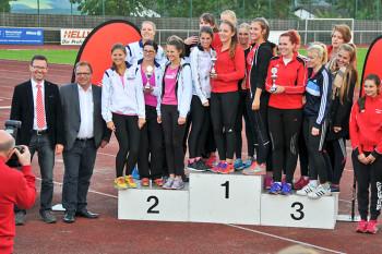 Die erfolgreiche Mannschaft der MT-Frauen, die auch in Borken nicht zu bezwingen waren. Foto: Erich Ullrich