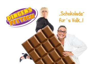 Marion Rasch und Heike Böcke alias Dr. Schleckenfittich & Frau Dingenskierchen. Foto: nh