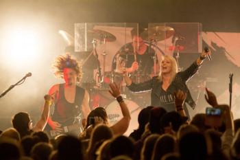 Die Band Luxuslärm war live zu erleben. Foto: nh