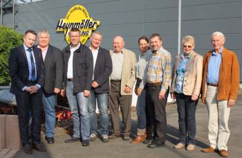 CDU Schwalmstadt besucht Heynmöller-Kleidung in Treysa. Foto: nh