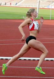 Karolin Siebert überzeugte auch über 1500 Meter. Foto: nh
