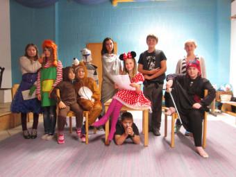 Theater-Ferienfreizeit im Umweltbildungszentrum Licherode. Foto: nh