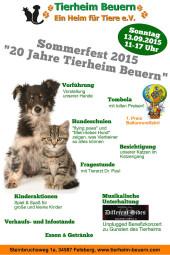 Plakat: Tierheim Beuern