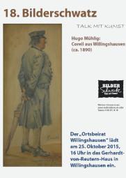 Am Sonntag, 25. Oktober, 16 Uhr, findet der 18. Bilderschwatz im Gerhardt-von-Reutern-Haus statt.