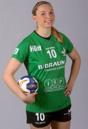 Kirchhofs Kapitänin Christin Kühlborn will endlich mit ihrem Team die ersten Pluspunkte einspielen. Foto: SG 09 Kirchhof