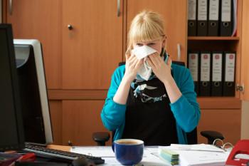 Erkältungszeit. Foto: Johanniter-Andreas Schoelzel