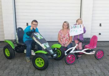 Juliane Leibel mit ihren Kindern Melissa und Pascal. Foto: FFH