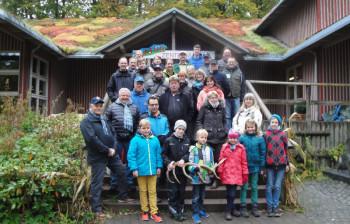 Die Teilnehmergruppe. Foto: Gert Wenderoth