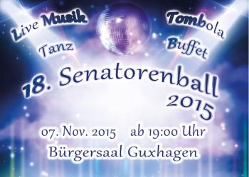 Bereits zum 18. Mal veranstalten die Blauen Funken am Samstag, 7. November, ab 19 Uhr, im Bürgersaal den Guxhagener Senatorenball. Foto: nh