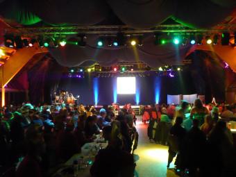CCE-Gala in der Berglandhalle Körle. Foto: nh