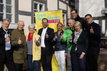 Claus Schiffner, Prof. Dr. Ludwig Georg Braun, Marion Viereck, Joost Fastenrath, Dr. Petra Rauch, Heiko Schwartz, Heinrich Grede, Jutta Busse-Danneil und Nils Weigand (v.l.). Foto: nh