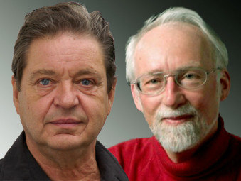 Herwig Lucas und Jürgen Oßwald. Foto: nh