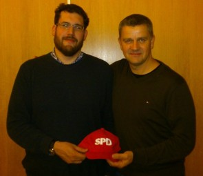 Martin Löwer (links) und Andreas Hahn, Foto: nh