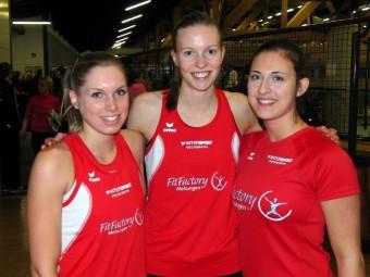 Karolin Siebert, Katharina Wagner und Selina Langhorst. Foto: nh