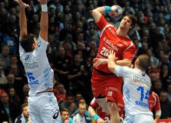 Momir Rnic glänzte mit acht Toren und hatte dabei kaum Fehlversuche zu verzeichnen. Foto: Hartung