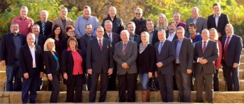 Gut gerüstet ist die Gudensberger SPD für die Kommunalwahl am 6. März 2016. Insgesamt 40 Männer und Frauen hat der Parteitag der Gudensberger SPD als Kandidatinnen und Kandidaten für die kommende SPD-Fraktion im Stadtparlament und im Magistrat sowie für den Kreistag nominiert. Foto: nh