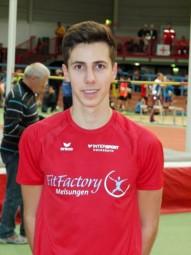 Aaron Werkmeister qualifizierte sich mit Bestzeit für Hanau. Foto: Alwin J. Wagner