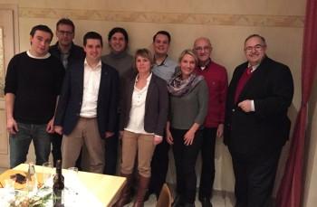 Im Rahmen einer Mitgliederversammlung verabschiedete die CDU Ottrau ihre Kandidatenliste für die Kommunalwahl am 6. März. Foto: nh