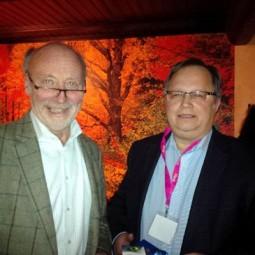 Dieter Posch (links) und Kai Ingo Niessing. Foto: nh