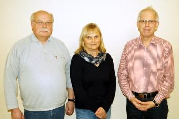 Die Vorstandsmitglieder (v. l.) Hans-Georg Roda, Dr. Bettina Hoffmann und Jörg Warlich wollen sich auch zukünftig für Niedenstein in den städtischen Gremien und im Kreistag des Schwalm-Eder-Kreises engagieren. Foto: nh