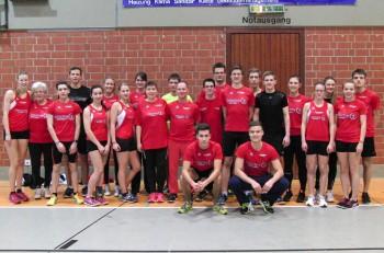 Das große MT-Team stellte bei den Kreis-Hallenmeisterschaften mehr als die Hälfte aller Teilnehmer. Foto: nh