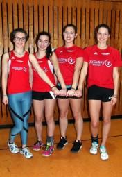 Das siegreiche MT-Staffel-Quartett der weiblichen Jugend. Foto: nh