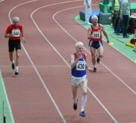 Harry Geier musste im 200m-Finale alles geben, um Bronze zu holen. Foto: Alwin J. Wagner