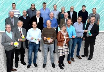 Die Kandidaten der Freien Wählergemeinschaft FWG Niedenstein. Foto: nh