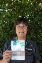 Patricia Odriozola hat die Organisation des Landes-Spielfestes inne, hier ist sie bei den Landesspielen von Special Olympics im Juli 2015 in Marburg zu sehen. Foto: nh