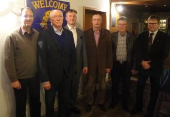 Peter Capitain, Hans-Dieter Nitsch, Constantin Thiel, Christian Engel, Heinz Marx und Andreas Ehrt (v.l.). Foto: Gert Wenderoth