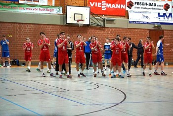 Die mJSG Melsungen/Körle/Guxhagen schlug in der A-Jugend-Bundesliga die HSG Handball Lemgo mit 34:29 (16:12). Foto: nh
