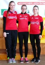 Jessica Brethauer, Lynn Olson und Franziska Ebert holten sich den Titel in der WU20. Foto: nh