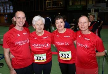 Pierre Nasser,  Hella Böker, Monika Groh und Bernd Gabel hatten allen Grund zum Strahlen. Foto: nh