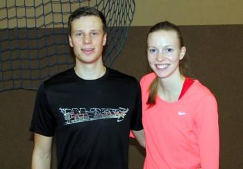 Michael Hiob und Katharina Wagner. Foto: nh