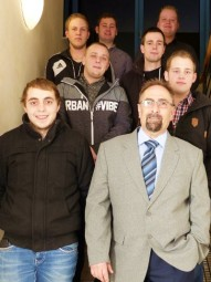 In der Kreishandwerkerschaft in Homberg wurden die neuen Anlagenmechaniker freigesprochen. Foto: Kreishandwerkerschaft Schwalm-Eder