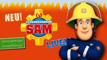 Feuerwehrmann Sam am 29. September in Homberg. Foto: JoKo-Promotion