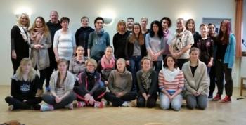 Teilnehmerinnen am Gewaltpräventionsseminar. Foto: nh
