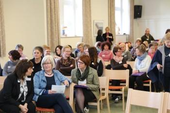"""Mehr als 100 Teilnehmerinnen und Teilnehmer beim """"Tag der Hauswirtschaft"""" der Hephata Diakonie. Foto: nh"""