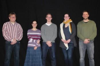 Der Projektbeirat: Andreas Ehrt, Debora Schaum, Christian Marx, Daniela Siemon und Thomas Löwer (v.l.). Es fehlt: Jürgen Werner. Foto: nh