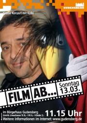 FILM AB - Rabe Kolki und Peter Dietrich in Gudensberg. Foto: nh