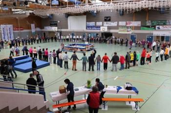 Hephata Diakonie richtete das Hessische Landesspielfest der Werkstätten für Menschen mit Behinderungen (WfbM) aus. Foto: nh