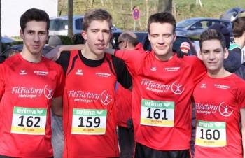 Dieses MT-Quartett startet bei den deutschen Crosslaufmeisterschaften. Foto: nh