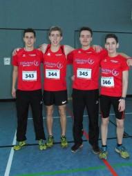 Das erfolgreiche MT-Quartett bei den DLV-Crosslaufmeisterschaften. Foto: nh