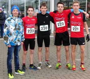 Team-Kreisrekord in der U20 für MT-Straßenläufer. Foto: nh