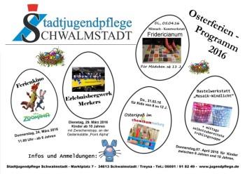 Osterferienprogramm der Jugendpflege Schwalmstadt. Foto: nh