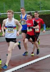 Marvin Knaust (83) überzeugte im 3000-Meter-Lauf der U18. Foto: nh